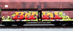 Graffiti on Freights (wojofoto) Tags: amsterdam nederland netherland holland graffiti streetart cargotrain vrachttrein freighttraingraffiti freighttrain freights fr8 wojofoto wolfgangjosten benoi benoit