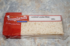Coupland's Caramel Louise Slice (Like_the_Grand_Canyon) Tags: new zealand neuseeland kiwi food essen meal christchurch vacation travel holiday december 2018