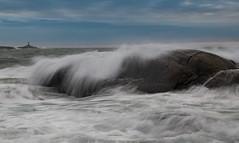 Roaring seas (Per-Karlsson) Tags: sea seascape seaspray coast sweden swedishwestcoast bohuslän marstrand waterinmotion waterscape