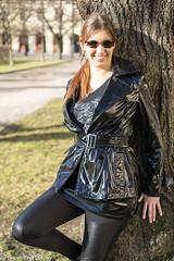 Goth in black vinyl trench (sexyrainwear_dot_online) Tags: vinyl pvc latex leather lack leder boots overkneeboots overknees lackundleder lackleder lackmantel vinylcoat vinyljacket vinylskirt pvcskirt lackjacke lackstiefel