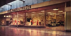 Stix, Baer & Fuller at the River Roads Shopping Center (1966) (poundsdwayne47) Tags: river roads mall shopping center jennings missouri stlouis 1966 stix baer fuller department stores