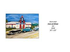 """Cars at Diner • <a style=""""font-size:0.8em;"""" href=""""https://www.flickr.com/photos/124378531@N04/31707757917/"""" target=""""_blank"""">View on Flickr</a>"""