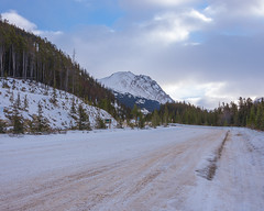 Treacherous drive... (S.S82) Tags: travelphoto landscape winter nature mountains venturebeyond canada myjasper snow frozen ss82 cold landscapephotography keepexploring landscapecaptures travelworld