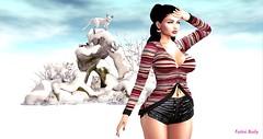 Lost My Way ... (Fotini Baily (Blogger-Photographer)) Tags: adorsy tmcreation bubble cosmopolitanevent sl slblog slblogger slfashion slfashionblog slnews slevents slbento sldecor slsnow snow fotinibaily maitreya catwa catya