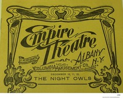 1908 empire theatre   State st (albany group archive) Tags: columbia amusement co wheel circuit burlesque old albany ny vintage photos picture photo photograph history historic historical