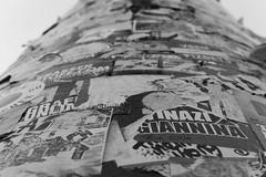 Sticker in Berlin (JaMu98) Tags: streetart germany hauptstadt berlin sw white black aufkleber sticker
