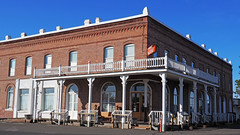 Shaniko Hotel (Eclectic Jack) Tags: shaniko eastern oregon trip october 2018 rural autumn fall central ghost town highway hwy 97 small history america americana west old