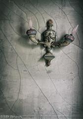 Lopsided Lamp (KRHphotos) Tags: swannanoapalace architecture abandoned virginia stilllife