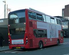 abellio london 2612 SN18 KLC (mj.barbour) Tags: alexander dennis enviro 400 tram replacement bus mmc abellio london 2612 sn18 klc hybbid