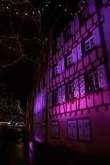 Pink (craigcallagher) Tags: colmar christmas lights street medieval fairytale market