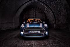 Mini Cooper (Carlos Server Photography) Tags: mini cooper canon5dmark3 canon cars nightphotography nightshot longexposure largaexposición fotografíanocturna coches 1635mm lightpainting