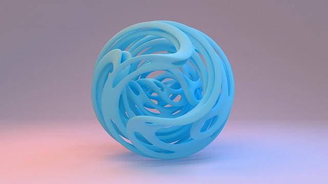 Обои шар, форма, голубой картинки на рабочий стол, фото скачать бесплатно