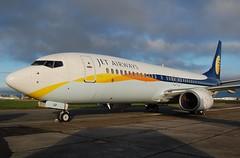 VT-JGF B737 8FH Jet Airways (corrydave) Tags: 29639 b737 b737800 jetairways shannon vtjgf
