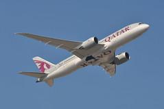 QR0330 LGW-DOH (A380spotter) Tags: takeoff departure climbout gearinmotion gim retraction belly boeing 787 8 800 dreamliner™ dreamliner a7bch qatar القطرية qatarairways qtr qr qr0330 lgwdoh runway08r 08r london gatwick egkk lgw