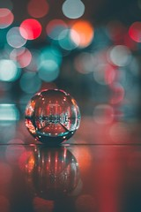 Christmas eve 🎄🎁 Happy Holiday 🎑 (ibtihajtafheem) Tags: lensball lensballphotography christmas christmastime holyday 2k18 2018 moodygram moody night bokeh bokehbliss light