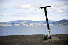 Lime Scooter (Wozza_NZ) Tags: wellington petone lowerhutt limescooter scooter electricscooter