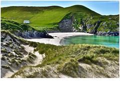 Doon in the dunes! (john.methven) Tags: uig lewis hebrides beach cottage