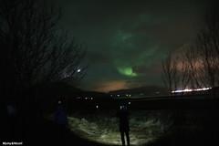 Aurores borales Reykjavik (Henge81) Tags: islande iceland nothernlights
