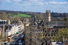High Street, Oxford (Explored) (Ken Barley) Tags: oxford stmaryschurch towerview