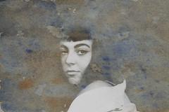 Nº10 (nuriagalv) Tags: watercolor portrait color people black bnw bw blanco bn blancoynegro boy blackandwhite bnwphotography bnwportrait girl
