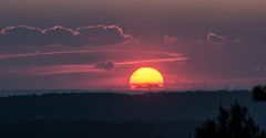 Coucher de soleil sur le Canigou depuis les hauteurs de Puyricard(13).24 01 2019. (bruno Carrias) Tags: canigou provence provencealpescôtedazur puyricard bouchesdurhône sunset soleil pyrénéesorientales