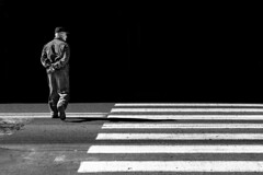 The Nonconformist (Mattiii photo) Tags: street streetphotography streetphoto streetshot streetphotographer streets streetitalia streetph streetshots streetphotograph streetlife streetparma streetimage streephotographer streetminimal streethsot streetpassioneadwards blackandwhite blackandwhitephotography blackandwhitephoto blackandwhiteshot blackandwhitephotographer blackwhite biancoenero bnw monochromatic monochrome person one minimal minimalist mininalism parma italia italy italianstreetphotography italianstreetphotographer shadow shadows dark light zebracrossing zebra city cityscape citylife old oldman rebel ribelle nonconformist great biancoenerofoto straight abstrat