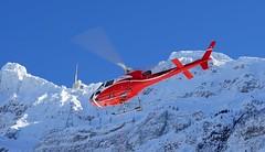 Helicopter (HeiAld) Tags: säntis alpstein appenzell suisse switzerland schweiz heli helicopter air sony ilce7 heini alder wintertag winterday winterwonderland
