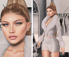 L251 (JoJo Delvalle - Photographer & blogger) Tags: secondlife game virtual doll 3d chic catwa mila a doux lotus tetra collabor88