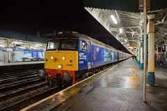 DRS 57002 Newport (daveymills37886) Tags: drs 57002 newport class 57 570 direct rail services blue boys loco fest pathfinder tours