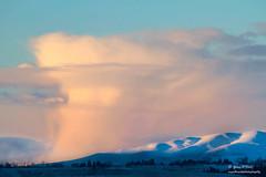 Evening Light and Snow Cloud (Gary O'Dell (sagebrushphotography)) Tags: storm eveninglight sunset stormcloud snowcloud shadows winter snow trees