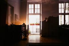 Accidentally beautiful (ewitsoe) Tags: warsaw warszawa erikwitsoe nikonfm2 film analogue analog home doubleexposure accident filmy poland autumn sun fujifilm