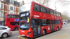 P1150481 VMH2589 LF19 FXP at New Broadway Uxbridge Road Ealing Broadway London (LJ61 GXN (was LK60 HPJ)) Tags: volvob5lhybrid mcv evoseti mcvevoseti 105m 10490mm metroline metrolinewest vmh2589 lf19fxp nb994