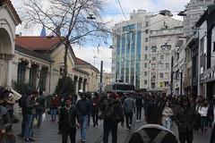 Istiklal Caddesi (lazy south's travels) Tags: beyoglu district istanbul turkey turkish urban candid road street view image scene taksim square building architecture capital city istiklal