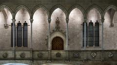 puertas que hablan II (lospollos1) Tags: palacio barcelona gotico historia