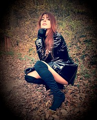 Elena Alice, early 2019 (an authentic and natural marvel) (Kirlian Camera) Tags: elenaalicefossi kirliancamera leadsinger leadvocalist vocalist singer musician songwriter musicproducer redhead rebel anarchist totalblack thighhighboots electronica electronicmusic avantpop goth popmusic electro synthpop triphop darkwave cult controversial multitalented beautiful avantgarde darkstar antistar darklady
