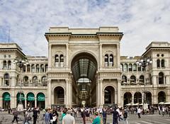 Galleria (@WineAlchemy1) Tags: milan milano galleria street vittorioemanueleii lombardy italy shoppingmall landmark ilsalottodimilano hautcouture