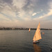 River Nile sunset, Luxor, Egypt