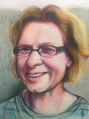 Caryn Stromberg for JKPP (• v • a • n • e •) Tags: cansonpaper jkpp juliakaysportraitparty portrait pastel pastelbar
