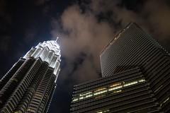 Looking up, Kuala Lumpur (costarob83) Tags: light clouds sky petronastowers kualalumpur