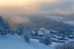 """Kirche """"Zum heiligen Blut"""" in Schönau (jan.kodet) Tags: snowcapped snow winter landscape frost mountain fog hill schönau expositur zum hl blut church light viechtach heiligen"""