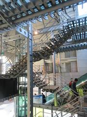 Modern interior, railway station, Namur, Belgium (Paul McClure DC) Tags: belgium belgique wallonie wallonia feb2018 namur namen ardennes railroad railway modern historic architecture
