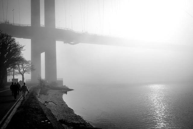 Fog on the Humber.