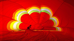 Red (Fevzi DINTAS) Tags: red hotair asia thailand festival prepare travel visit tourism places destinations adventure amazing outdoor indoor interior play fun yellow colors rainbow wonderful people human geometry lines graphics paza140 nationalgeographic fly balloon