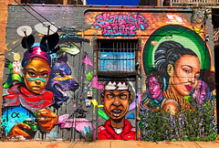 Silver Room by Max Sansing & Rahmaan Statik (wiredforlego) Tags: graffiti mural streetart urbanart aerosolart publicart chicago illinois ord maxsansing rahmaanstatik statikone
