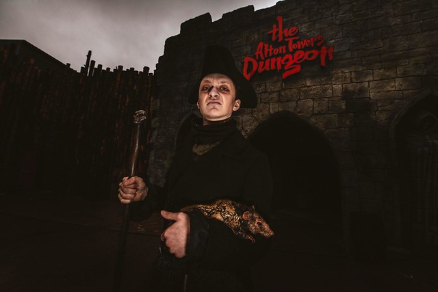 The Alton Towers Dungeon - The Steward