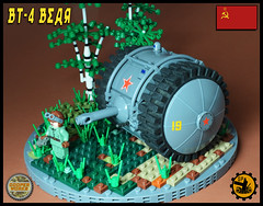 BT_4 Bear 02 (Cooper Works 70) Tags: lego tank military ww2 wwii alternative custom stickers