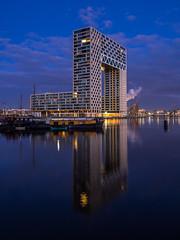 A0193424 (rpajrpaj) Tags: amsterdam cityscape nederland nederlandvandaag netherlands city sunrise bluehour thebluehour