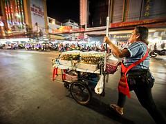 Bangkok Chinatown-3231542 (Neil.Simmons) Tags: bangkok chinatown thailand southeast asia candid street streetphotography laowa 75mm f2 ultra wide angle ultrawideangle night stall cart