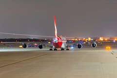 One of my top 5 favorite all time shots I have ever taken as a plane spotter. Qantas A380 VH-OQB (ncsheeder) Tags: jetphotos aviationphotography avporn avpics aviation planeporn planepics planespotting texas dallas dfw sfw oneworld qantas australia whale a380 airbus plane