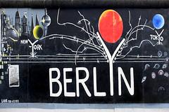 Berlin Barbed Wire (Anthony Mark Images) Tags: barbedwire berlin berlinwall berlinermauer deutschland germany eastsidegallery europe outdoorgallery art streetart wallmural painting tokyo newyork mercedesbenz redsun bluemoon greenearth berlinerdom eyes berlinerfernsehturm nikon d850